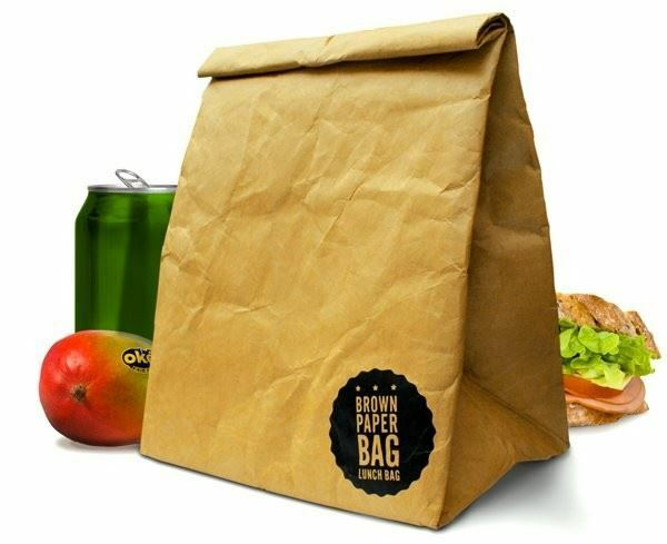 Brown Paper Lunch Bag - Luckies
