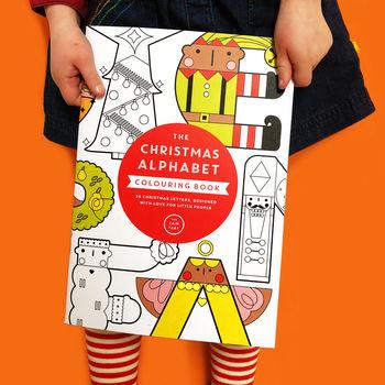 The Jam Tart Christmas Alphabet Colouring Book.