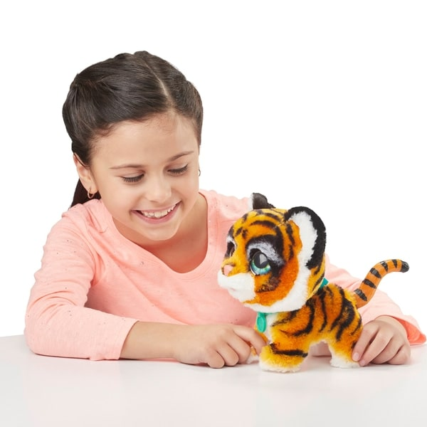 FurReal Walkalots Big Wags Animatronic Plush Tiger Toy