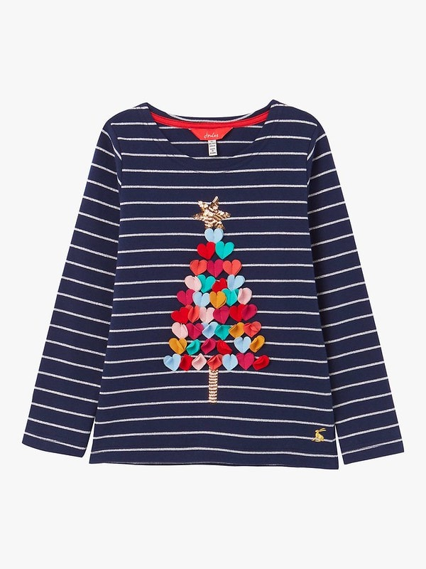 Joules Harbour Luxe Long Sleeve Jersey Top