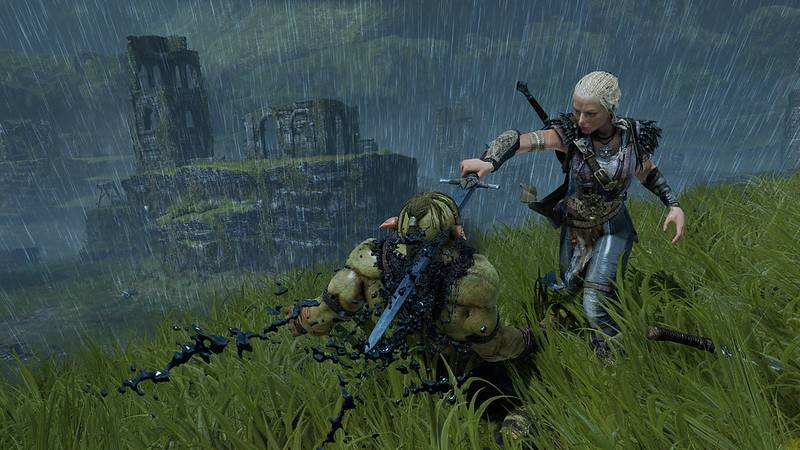 Many games revolve around orc hunting but it can also be fun to play as a good orc, subvert expectations.