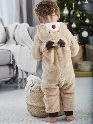 JoJo Maman Bebe Reindeer Onesie