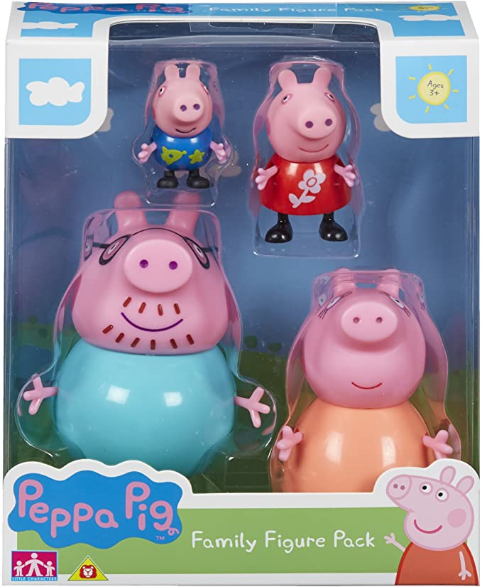Peppa Pig Family Figures Pack.