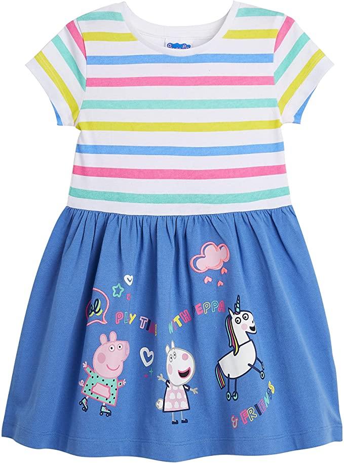 Peppa Pig Girls Unicorn Dress.
