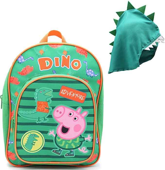 Peppa Pig, George And Mr Dinosaur Adventure Backpack.