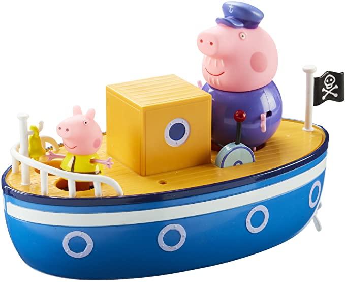 Peppa Pig Grandpa Pig's Bath Time Boat.