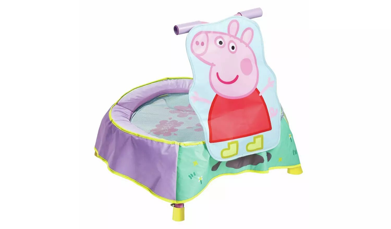 Peppa Pig Toddler Trampoline.