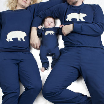 PJ Mama Family Matching Pyjamas.