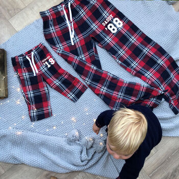 Solesmith Personalised Family Tartan Pyjamas.