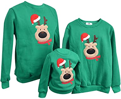 Pengniao Family Matching Christmas Jumpers