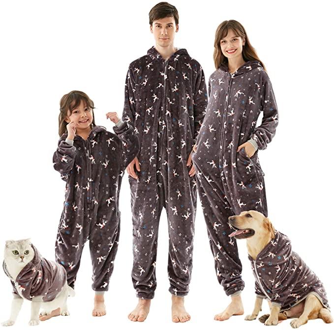 Inflation Christmas Matching Family Pyjamas.