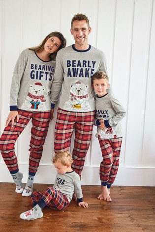 Next Red Matching Punny PJs.