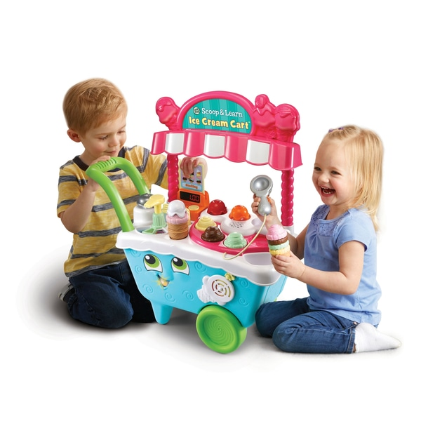 LeapFrog Scoop And Learn Ice Cream Cart.