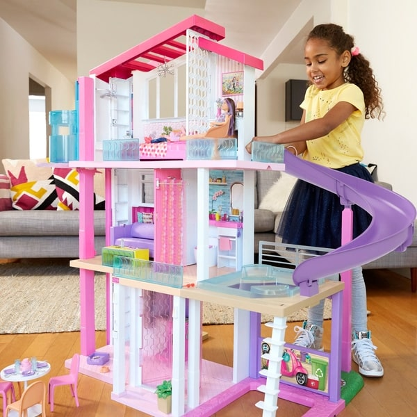 Barbie Dreamhouse Playset With Accessories Assortment.