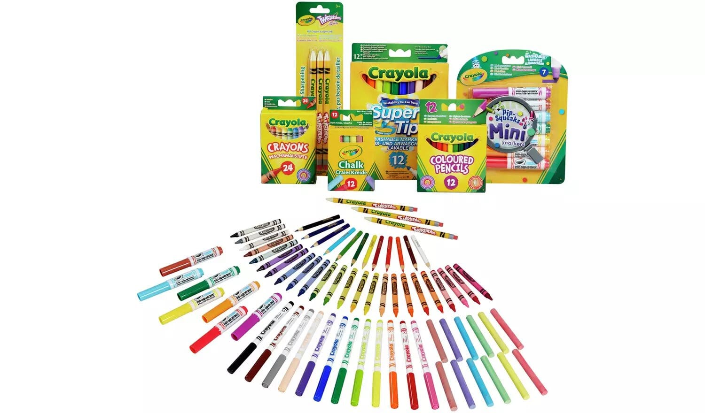 Crayola 70-Piece Stationery Set.