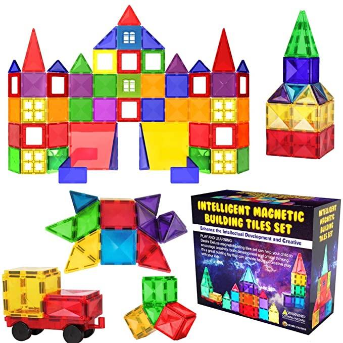Magnetic Building Blocks Tiles, Desire Deluxe.