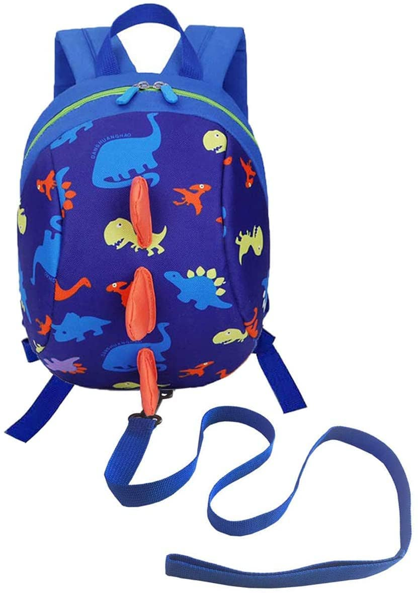 DD Dinosaur Toddler Backpack with Reins