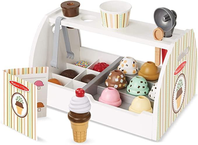 Wooden Scoop & Serve Ice Cream Counter, Melissa & Doug.