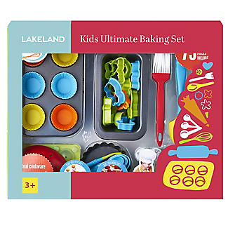 Kids' Real Cookware 48pc Ultimate Baking Gift Set.