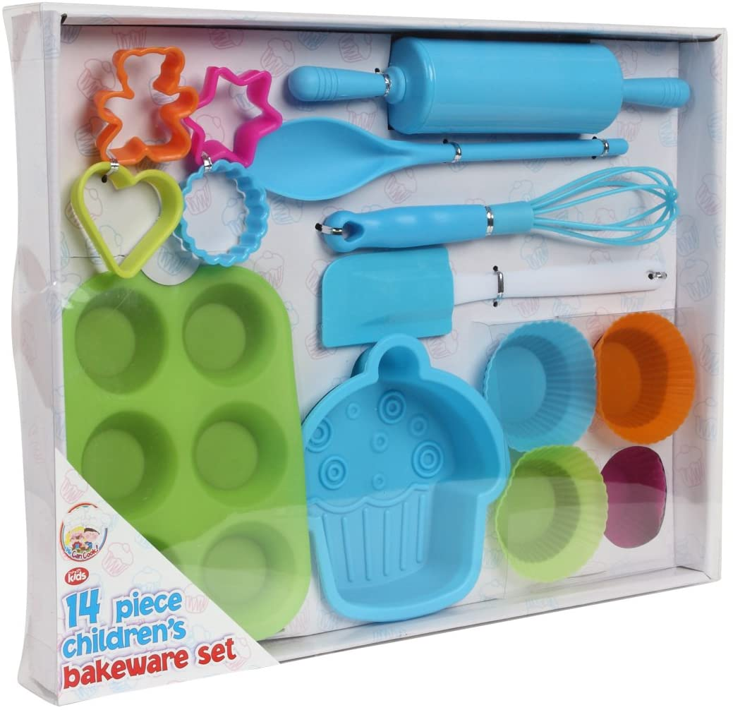 We Can Cook 14 Piece Children's Bakeware Set.