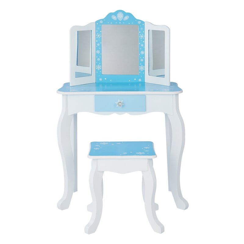 Harriet Bee Dressing Table Set with Mirror