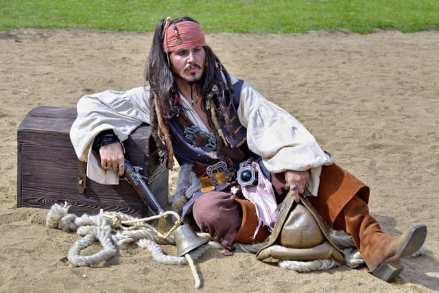 Female pirate names and characters are just as popular as male pirate names.