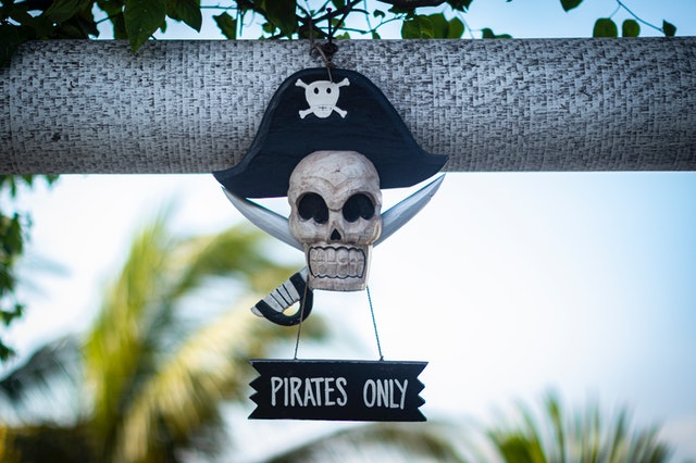 Funny names for pirates could be made from anything.
