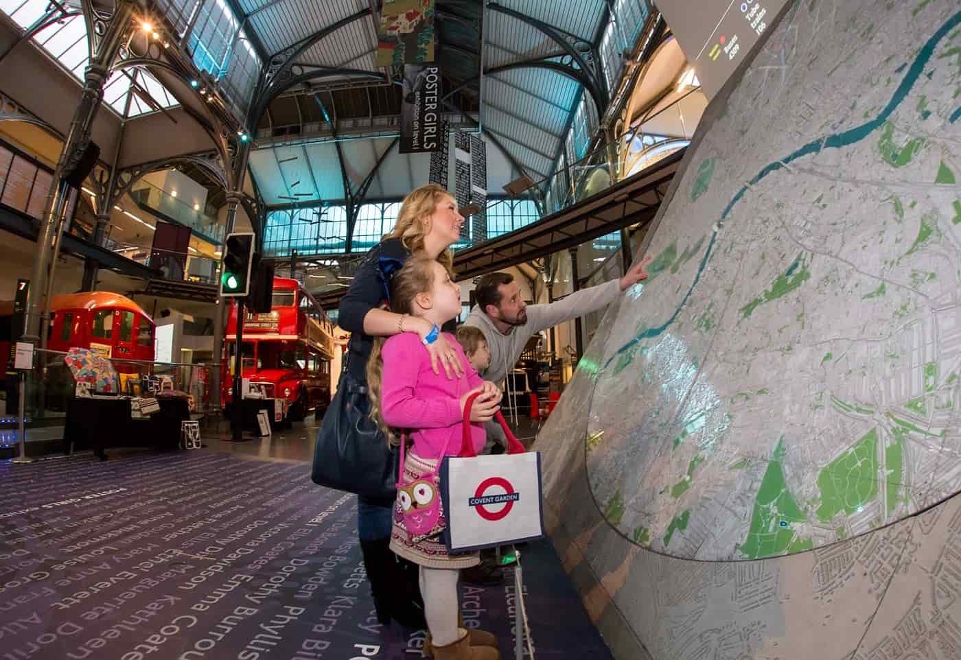 The London Transport Museum in Covent Garden has some special plans for kids this Christmas.