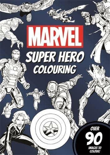Marvel Super Hero Book