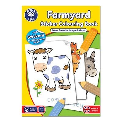 Orchard Toys Farmyard Sticker Book