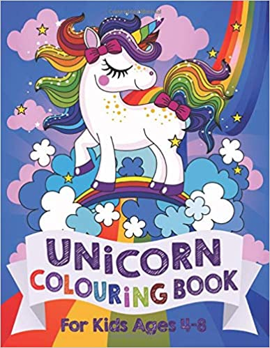 Silly Bear Unicorn Colour Book