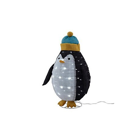 B&Q Ice White LED Penguin.