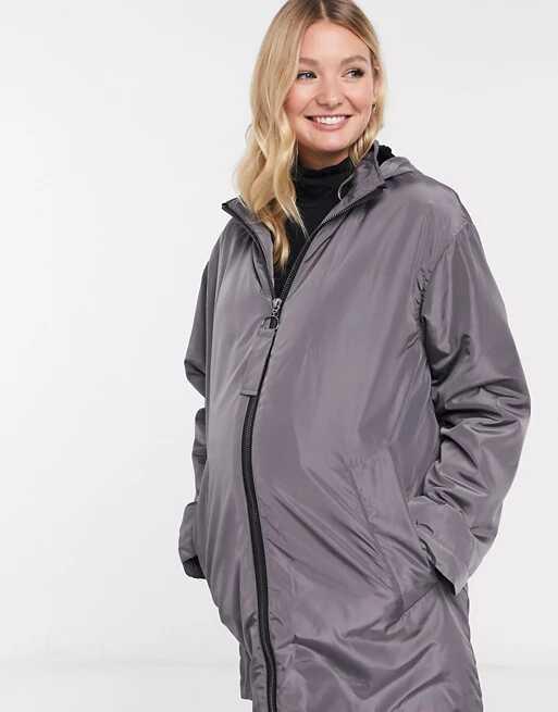 ASOS DESIGN Maternity Raincoat