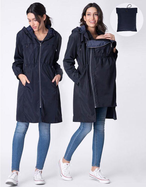 Seraphine 3 In 1 Rain Resistant Pack-Away Maternity Coat