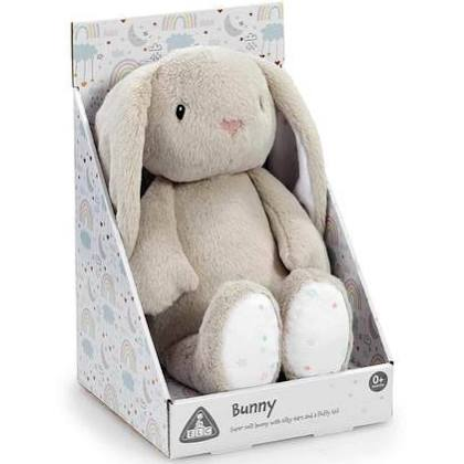 Early Learning Centre Grey Bunny Plush Toy.