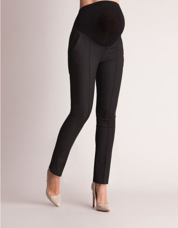 Seraphine Tailored Black Maternity Trousers