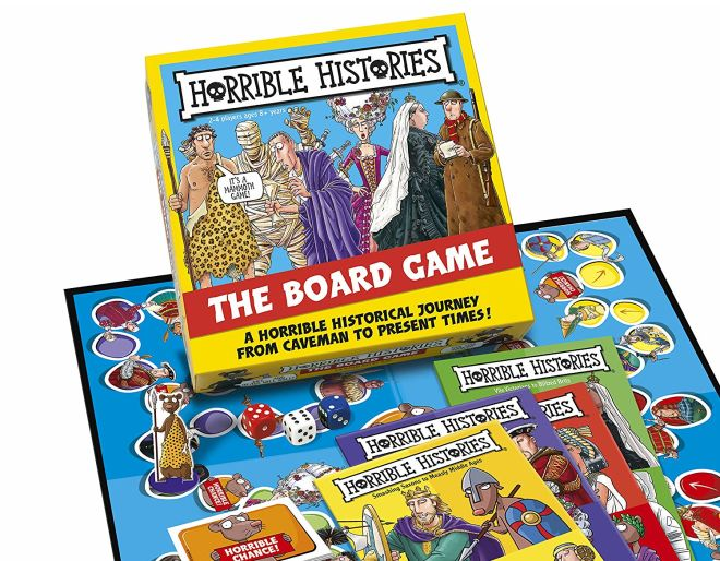 Horrible Histories Board Game.