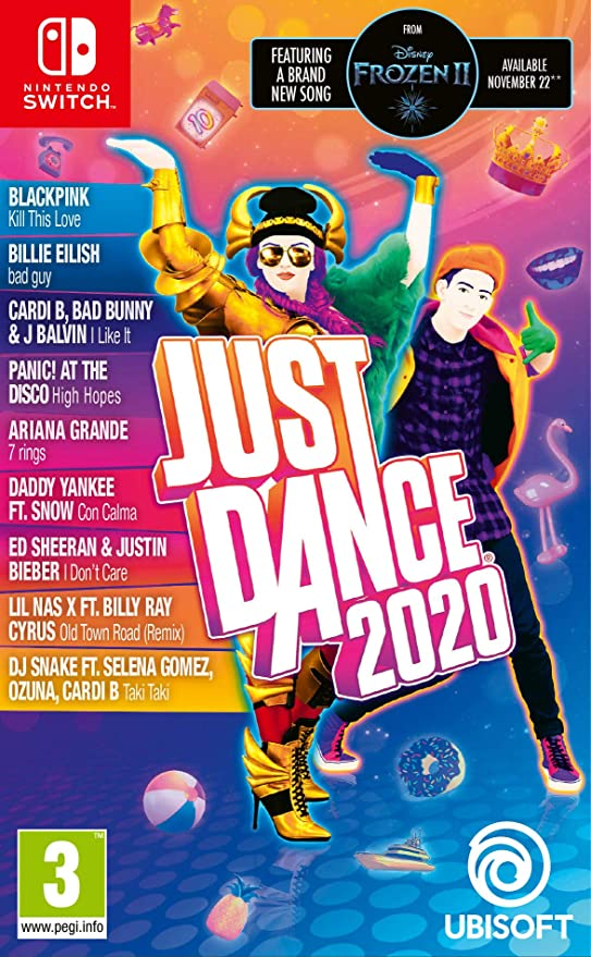 XBOX One Just Dance 2020.