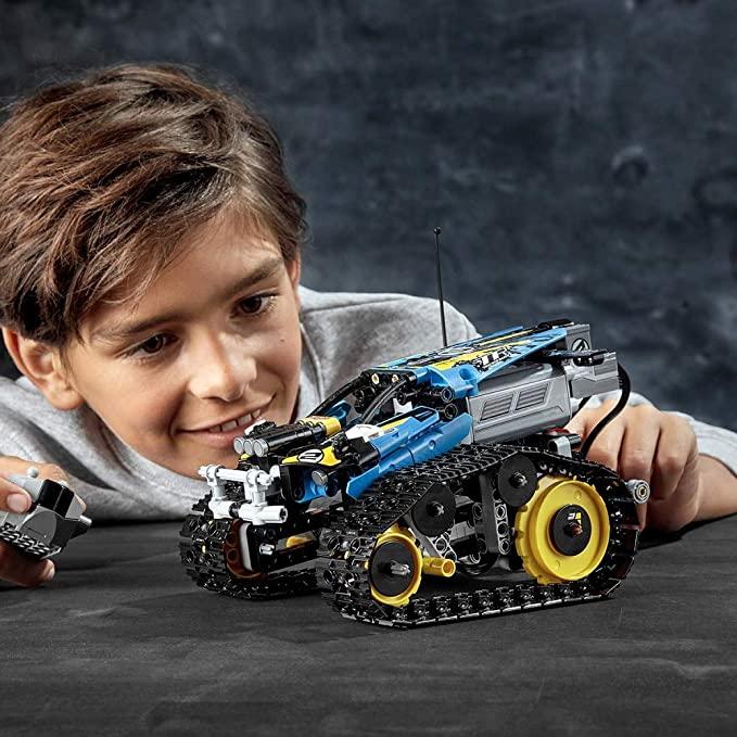 LEGO Technic Remote Control Stunt Racer Toy Car.