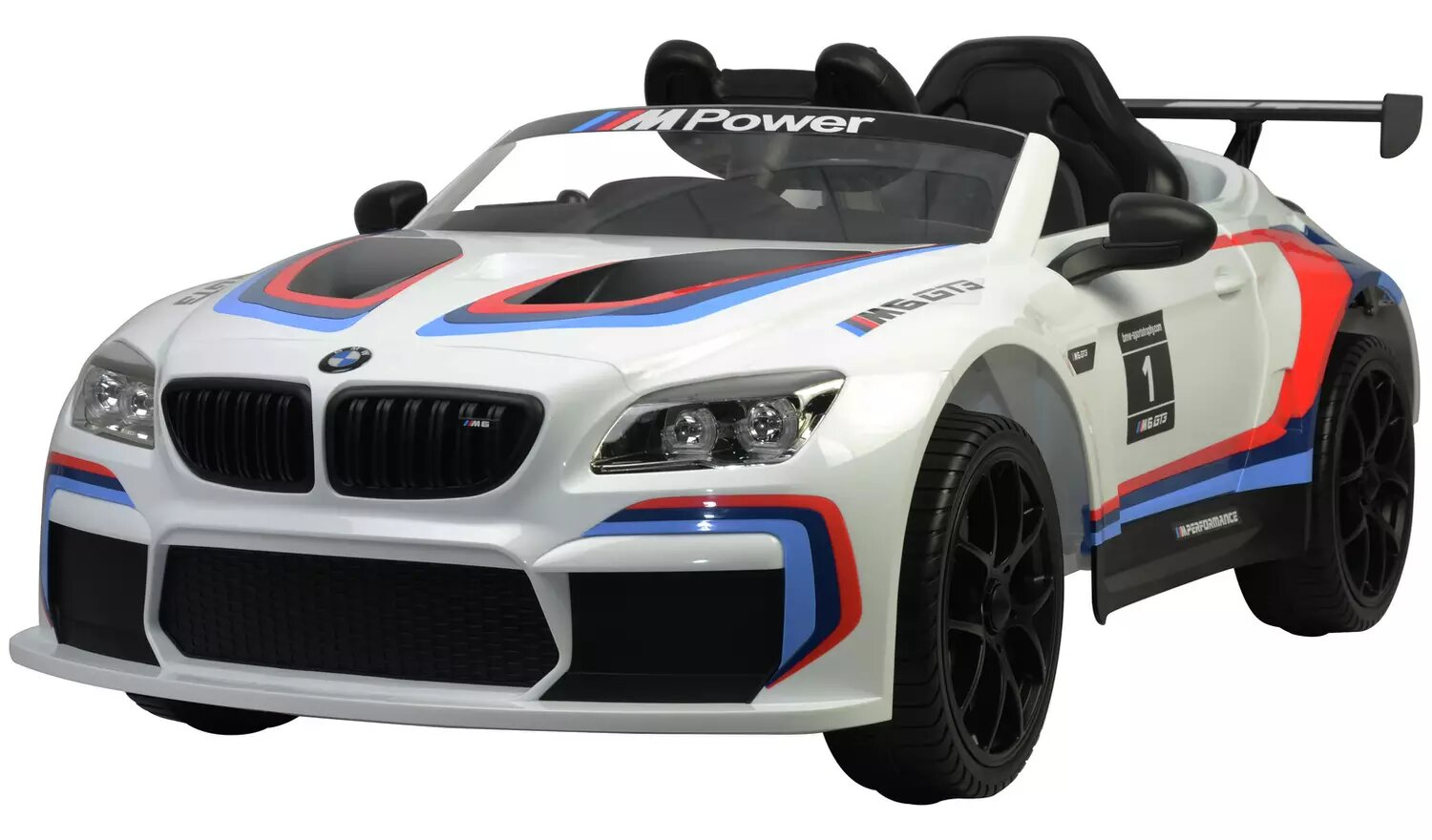 BMW GT3 Replica 12V Powered Ride On Car With Remote Control.