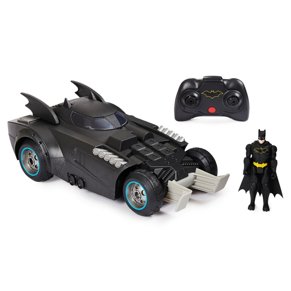 Remote Control 'Batman' Launch And Defend Batmobile.