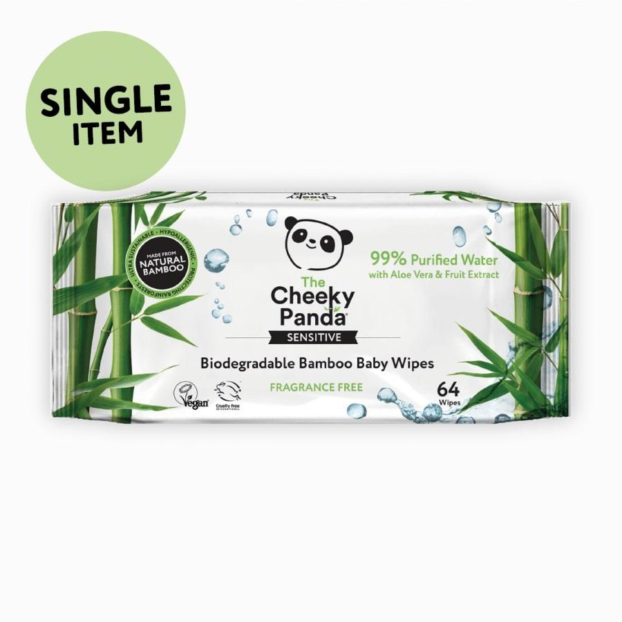The Cheeky Panda Biodegradable Bamboo Baby Wipes - Planet Organic