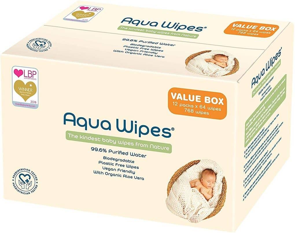 Aqua Wipes Baby Wipes