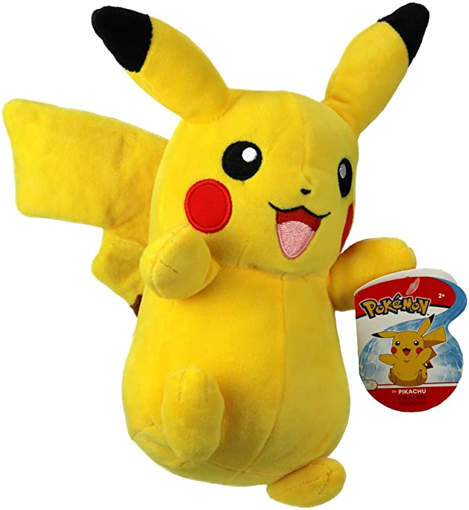"Pikachu 8"" Pokémon Plush Toy."