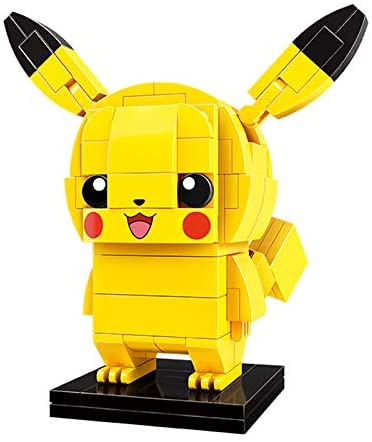 Q-Man Pokémon Pikachu 3D Construction Toy.