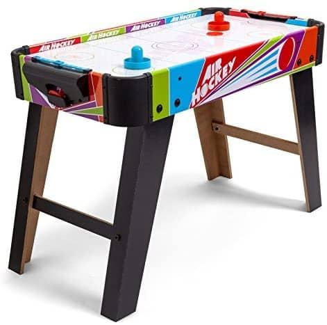 Tobar Freestanding Mini Air Hockey Table Game