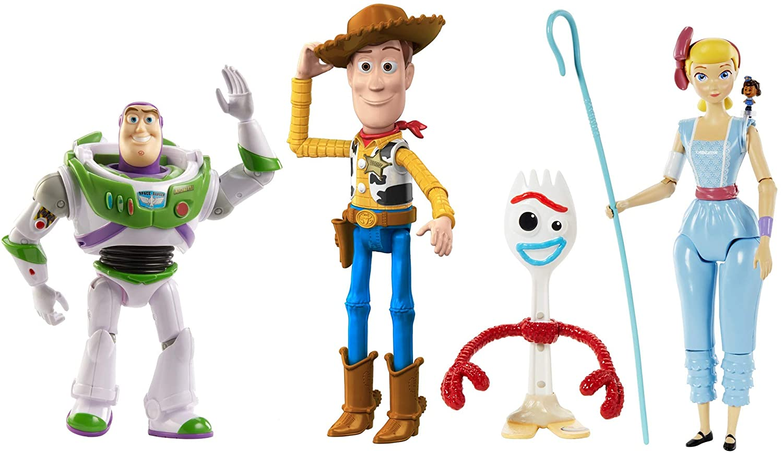 Disney Pixar Toy Story 4 Figures.