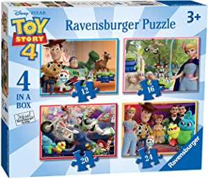 Ravensburger Toy Story 4 In A Box Jigsaw Puzzles.