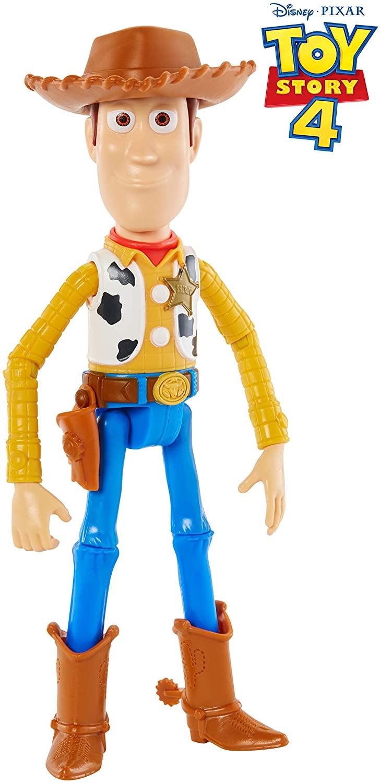 Mattel Disney Pixar Toy Story 4 Woody Figure.