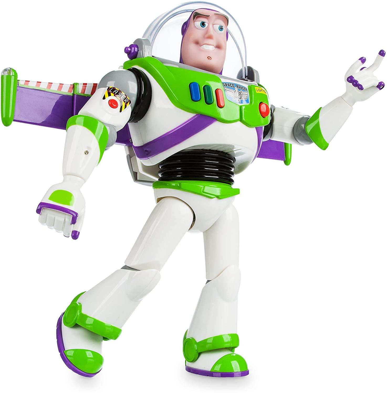 Disney Store Buzz Lightyear Interactive Talking Action Figure.